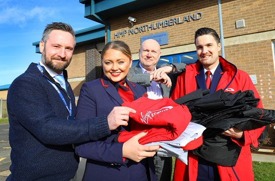HMP Northumberland and Virgin Trains Partnership
