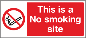 No smoking site